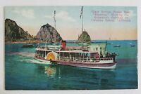 1921 Vintage Postcard Glass Bottom Boat Empress Catalina Island California