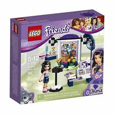 41305 EMMA'S PHOTO STUDIO lego friends set NEW legos sealed box retired freinds