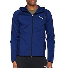 PUMA Evostripe Ultimate Full Zip Mens Running Hoody - Blue L 592618 16-l