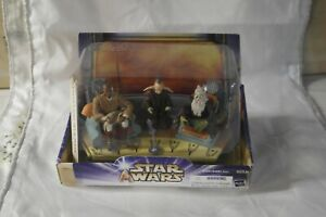 NEW STAR WARS JEDI HIGH COUNCIL FEATURING  MACE WINDU,OPPO RANCISIS,EVEN PIELL
