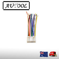 Automobile electric stereo wireless CD player wiring harness adapter subaru OZ