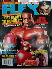 Flex September 2001 magazine, Chris Cormier, Mike Mentzer, Marion Jones
