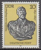 DDR East Germany 1981 ** Mi.2579 Founder Universal Postal Union UPU | Stephan