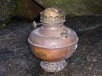 Antique Copper Climax Lamp Base Kerosene Oil