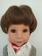 "Gotz 18"" Bavarian boy doll Johannin original lederhosen"