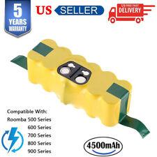 14.4V Battery for IROBOT ROOMBA 500 530 700 600 4.5Ah Ni-MH 540 770 630 800 900
