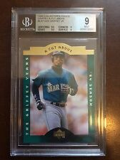 1996 Collector's Choice Griffey A Cut Above Ken Griffey Jr. #CA7 BGS 9 MINT HoF