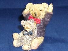 PETER FAGAN/COLOURBOX TEDDY BEARS ROMANY & LUCKY REDUCED