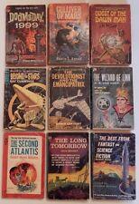 Ace F Series Lot- (9) Vintage Science Fiction- ACE- Old Paperbacks Science Fict