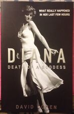 PRINCESS DIANA DEATH OF A GODDESS RARE BOOK ON HER FINAL HOURS ALIVE
