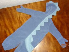 Dinosaur costume boy or girl size 6-12 months. Old Navy baby Unisex Blue Gray