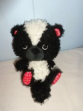 Plush Doll Figure Tick Tack Toe X O Hallmark Cute Valentines Day Love Skunk Toy