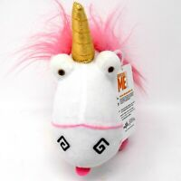"Toy Factory Fluffy 10"" Unicorn Plush Toy Stuffed Animal Despicable Me Minion"