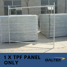 Construction Temporary Fencing - 1 x Galvanised Temporary Fence Panel Only
