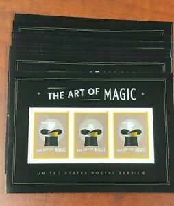 USPS SC 5306  - The Art of Magic Lenticular / 3D - 10 sheets (30 Forever stamps)