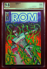 ROM #1 PGX (not CGC) 9.8 NM/MT Original Sketch Cover by RICH WENTWORTH!!!