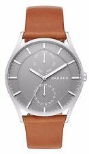 Skagen SKW6264 Men's Holst Leather Band 3-Hand MultiFunction Day Date Watch