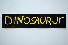 Dinosaur Jr Sticker Decal (465) Rock  Metal Car Sticker Window Bumper