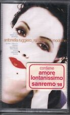 MUSICASSETTA ANTONELLA RUGGERO REGISTRAZIONI MODERNE MUSICAL CASSETTE NEW SEALED