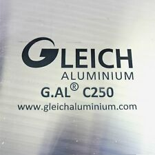 "New listing .75"" thick Precision Cast Aluminum Plate 1.9375"" x 48.875"" Long Qty 2 sku106180"