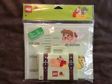 NEW LEGO DUPLO MY SWEET HOME HEIGHT CHART CRAYONS 2856107 **
