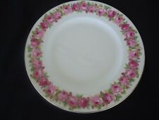 vintage royal doulton raby rose d5533 entree plate  pink roses