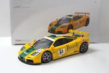 1:18 True Scale TSM 1995 McLaren F1 GTR Le Mans 24h #51 Mach One Racing Harrods
