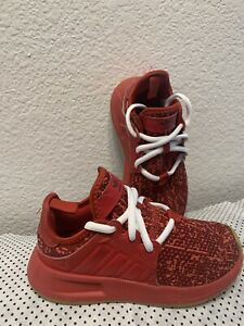 adidas shoes kids Unisex Size 11k Red Color