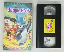 The Jungle Book VHS Tape Walt Disney Classics