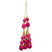 Pink Balls Tassel Blouse Saree Accessories Latkan