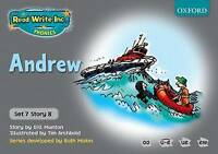 Read Write Inc. Phonics: Grey Set 7 Storybooks: Andrew by Ruth Miskin, Gill...