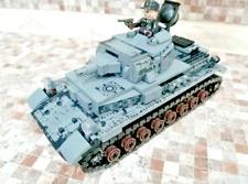 596PCS WW2 German Model Building Blocks Set Military Tank Soldier Figures Bricks