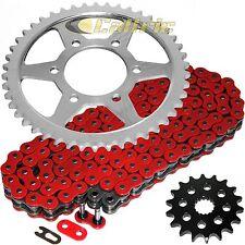 Red O-Ring Drive Chain & Sprockets Kit Fits KAWASAKI ZX1200 Ninja ZX12R 2000-05