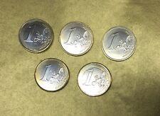 1 EURO BELGIQUE / BELGIEN 1999 2000 2001 2002 2003 ALBERT II -  SPLENDIDES 63 -