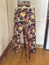 Cue floral patterned jeans, size 8
