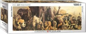 Noah's Ark Panoramic 1000 piece jigsaw puzzle 960mm x 320mm (pz)