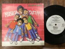 VINYL RECORD SINGLE VINTAGE RETRO 45 MUSICAL YOUTH OF TODAY PICTURE COVER
