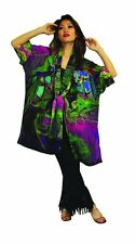 Picasso Artist Inspired Hand Painted Silk Jacket Set  NWT One Size Plus Size 111