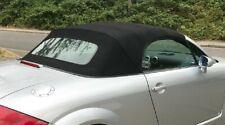 Verdeck für Audi TT Cabrio , streng nach OEM, Stoff schwarz , blau, 1999 - 2006