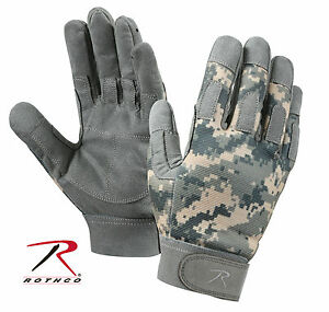 Rothco 3456 Lightweight All Purpose Duty Gloves - ACU Digital Camo