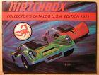 Matchbox Catalogue Catalogo 1971 USA Superfast