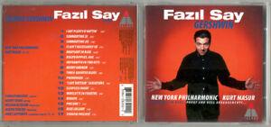 CD Fazil Say GERSHWIN New York Phil Kurt Masur Porgy & Bess Rhapsody In Blue