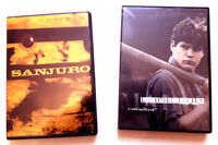 Sanjuro (KUROSAWA) + Lacombe Lucien (MALLE) - 2 dvd Critérion (Zone 1)