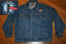 Nashville Denim Jacket Muscle Shoals To Music Row Live KIX 96 Country Men's XL
