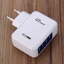 Universal 4 fach Mehrfach 3A Multi USB Port 5V Netzteil Adapter Ladegerät EU