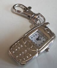 Boy's or girl's Cool Cute Cell Phone Look clip on keychain fashion watch