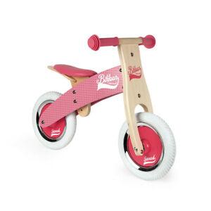 Janod - My First Pink Little Bikloon - Wooden Balance Bike