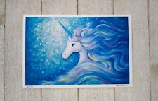 Unicorn Fine Art Signed Limited Edition Print Signed Numbered by Theresa Stites