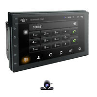 """Android 9.0 GPS Navigation 7"""" Car Stereo NO DVD Player Radio BT USB Double DIN"""