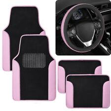 Car Accessory Gift Set Glitter Floor Mats Amp Diamond Bling Steering Wheel Cover Fits 2003 Honda Pilot